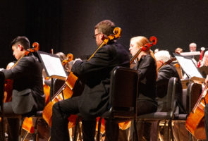 Corvallis-OSU Symphony Orchestra performing