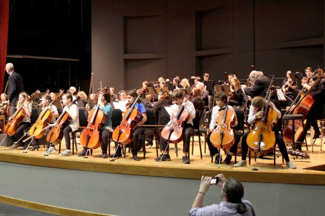 Corvallis-OSU Symphony Orchestra children's concert